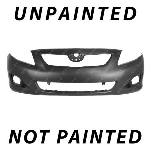 Front Bumper Cover Fascia for 2009 2010 Toyota Corolla NEW Painted To Match