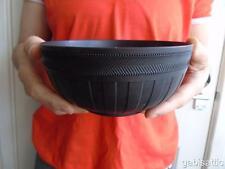 "Vintage Wedgwood Black Basalt Jasperware Centrepiece Console Bowl Dish 6"""