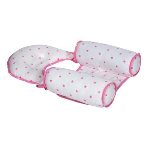 Seitenlagerungskissen Babykissen Baumwolle Baby Kopfkissen Kopfformend Kissen 33
