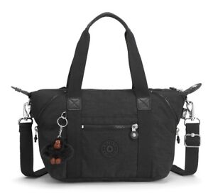 BORSA-A-MANO-E-TRACOLLA-KIPLING-ART-MINI-K01327-TRUE-BLACK-J99-SCONTATA