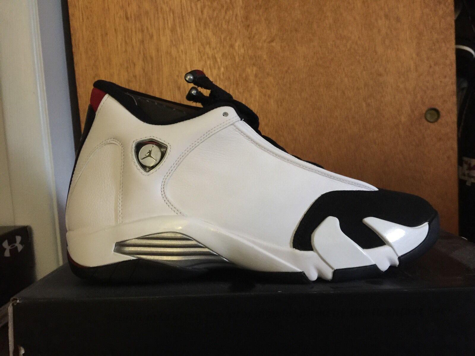 Jordan 14 Black Toe DS