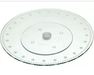 Kitchen-Craft-30cm-Revolving-Glass-Cake-Decorating-Icing-Stand-Platter