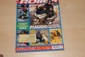 Roller 02/2004 Vespa 125 200 L Gewissenhaft 71549 Yamaha Why 50