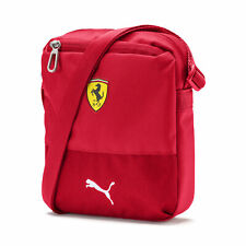 PUMA Ferrari Premium SF F1 Portable Shoulder Bag ROSSO CORSA 07589801