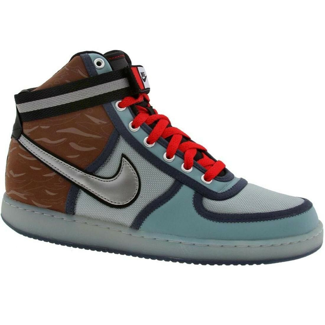 317302-401 Nike Vandal High Army Premium Quickstrike - Army High Pack Blue Haze a780dc