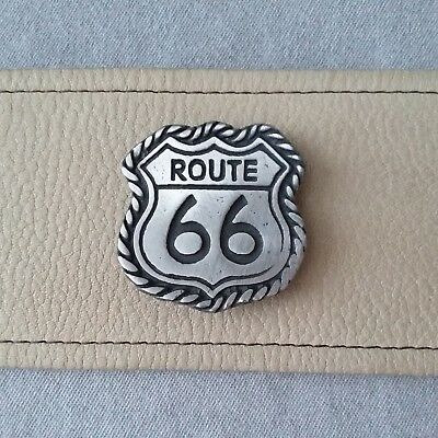 Obsolete Collector Antique Replica RT66 ROUTE US 66 OLD WEST BADGE Made in USA