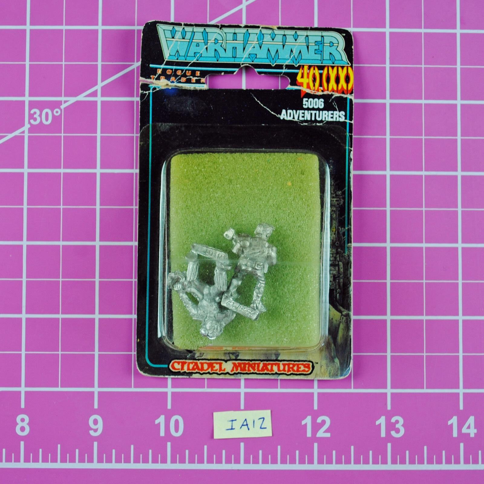 Warhammer 40K Imperial Adventurers - Rogue Trader Rare OOP Citadel Extech Pilot