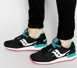 74d87209fe Details about new FREE SHiPPING NO BOX GS SIZE Saucony Shadow 5000 black  pink white turquoise