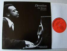 Jo BONNER Devotion HOLLAND Digital LP STEEPLE CHASE SCS 1182 (1983) NMINT