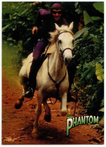 Rides The Phantom #12 The Phantom Movie 1996 Inkworks Trade Card C1503