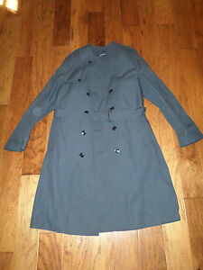 U-S-MILITARY-AIR-FORCE-FULL-LENGTH-ALL-WEATHER-TRENCH-COATS-42-XL-42-L-42-R