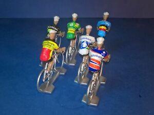 Lot-de-6-cyclistes-Sven-Nys-Cyclo-Cross-Veldcross-Cycling-figure