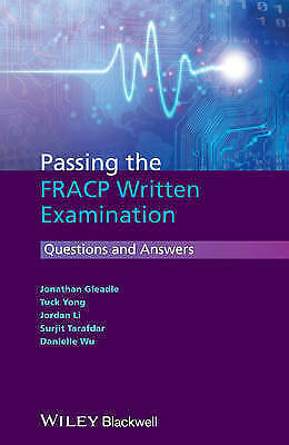1 of 1 - Passing the FRACP Written Examination: Questions and Answers by Jordan Li, Jonat