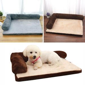 Large Xl Comfy Corduroy Dog Bed Cat Blanket Pet Sofa