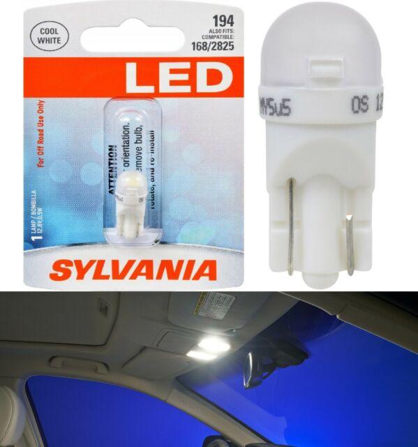 Sylvania Premium LED light 194 White One Bulb Interior Map Replacement Fit EO