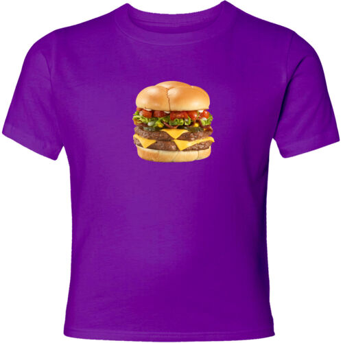 French Double Cheeseburger Unisex Mens Womens Funny Cool Gift Graphic T-Shirt