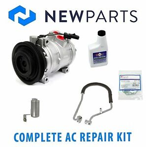 For Chrysler PT Cruiser 2004 Complete AC A//C Repair Kit w// Compressor /& Clutch