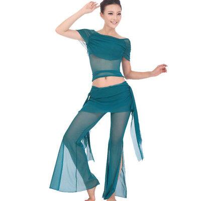 2019 Ultimo Disegno C813 Danza Del Ventre Costume Con 2 Pezzi Top Top + Pantaloni Belly Dance In 34/36-