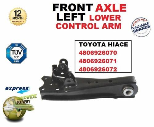 FOR TOYOTA HIACE 4806926070 4806926071 4806926072 FRONT LEFT LOWER CONTROL ARM