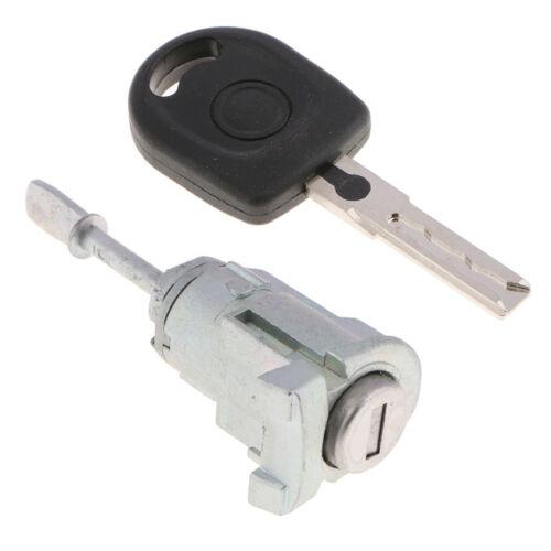 Front Left Door Lock Cylinder for VW Skoda Octavia 2007-2012 Driver Side