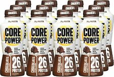 Core Power High Protein Drink Milk Shake Chocolate 26g, 11.5-ounce, Case of 12