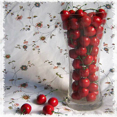 New 20pcs Artificial Fake Cherry Food Wedding Party House Decorative Decor