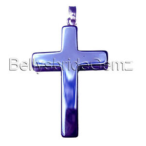 Hematite cross pendant with silver bail black goth gothic jewellery image is loading hematite cross pendant with silver bail black goth aloadofball Gallery