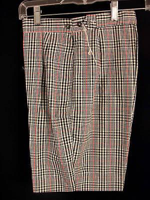 Diligente Rare Deadstock 1950's -1960's Cotone Da Donna Pantaloncini