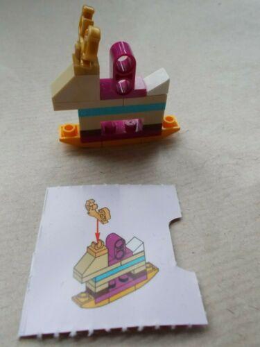 Used LEGO Friends Noël Hiver superposée Décorations 41353 Bougie cloches Pick