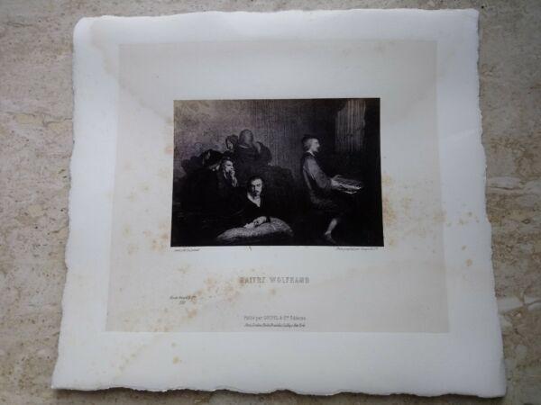 $ 800 Foto Stampa Musee Goupil & Cie Maitre Wolfram Musique Orgue Portrait Rare