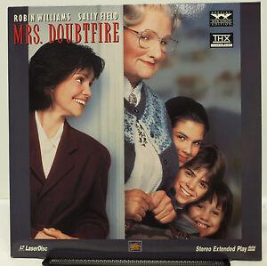 Mrs Doubtfire 1993 Laserdisc Widescreen Extended Edition Williams Ebay