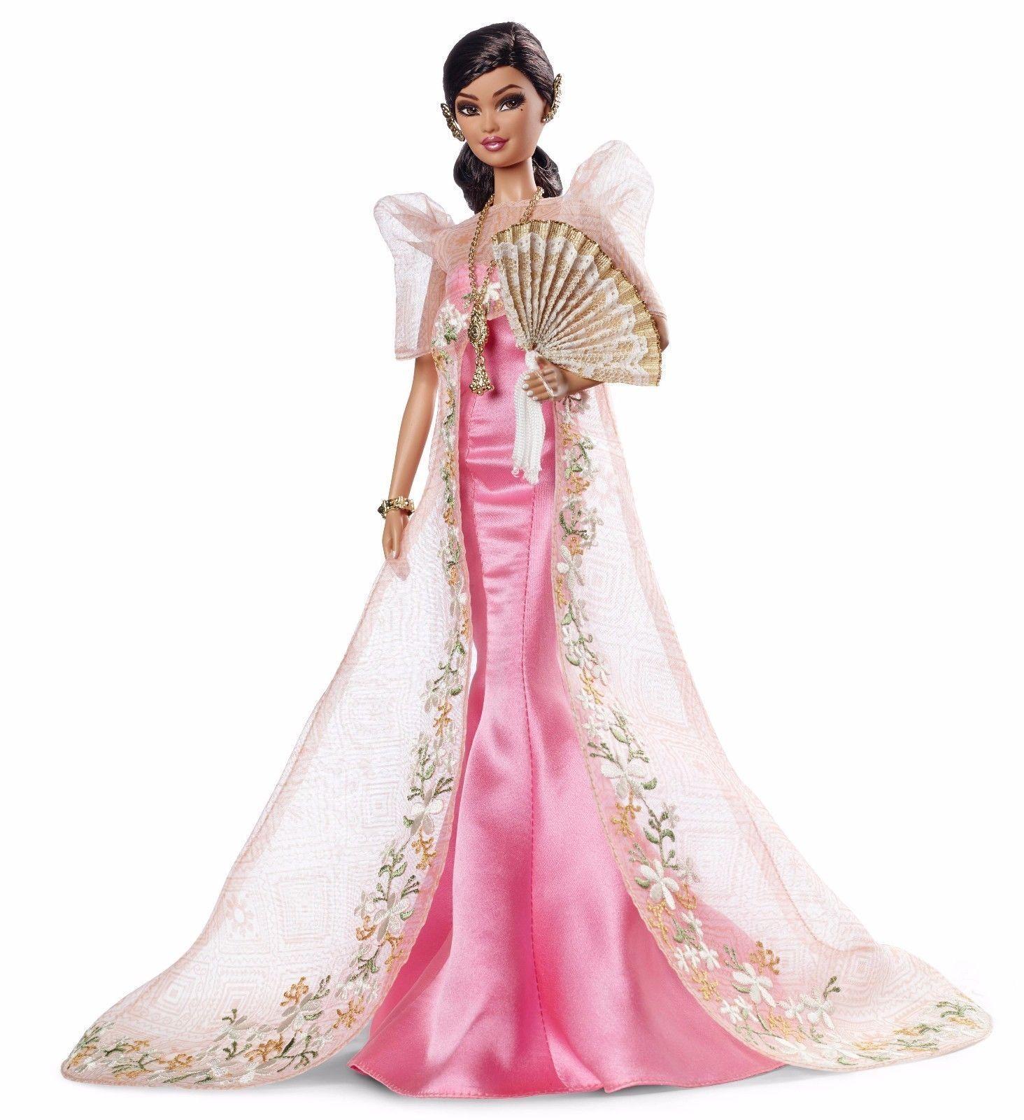 Global Glamour Muñeca Barbie Filipinas asain Mutya CGT76 Nuevo en caja de remitente