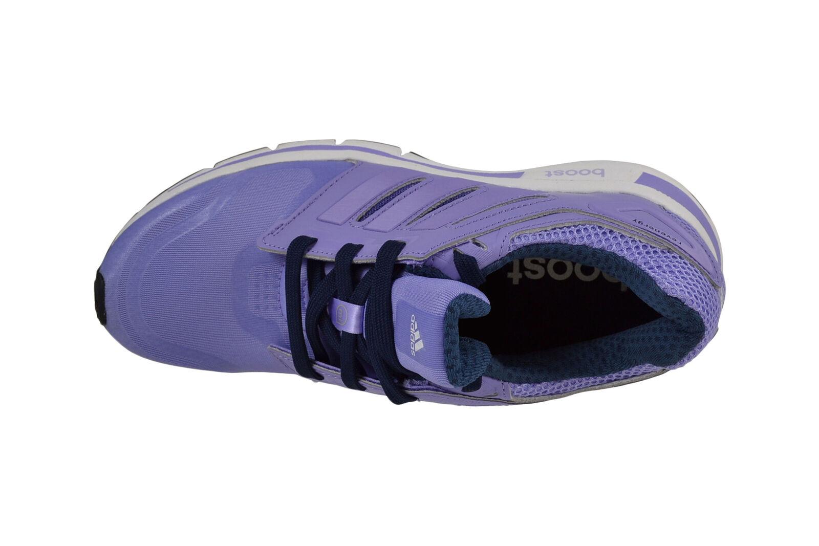 ADIDAS Revenergy Techfit W Glow Glow Glow viola bianca Boost Scarpe da corsa m17441 50e98c