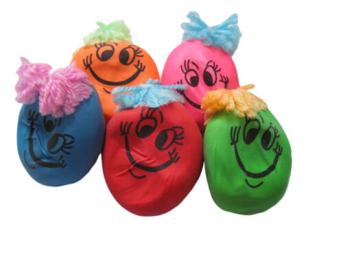 Happy faces squishy mood stress balls gift loot bag party fillers Free UK P/&P