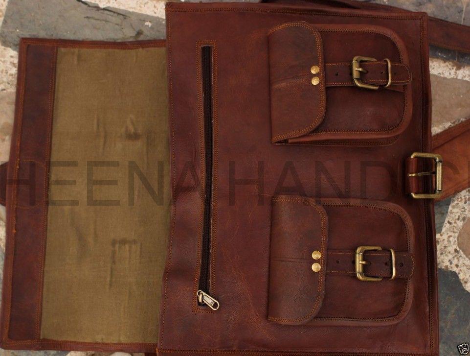 Echte Vintage Umhängetasche für für für Herren Satchel School Messenger B      Am wirtschaftlichsten  83234e