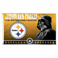 item 2 Pittsburgh Steelers Darth Vader Star Wars Large Outdoor Flag -Pittsburgh  Steelers Darth Vader Star Wars Large Outdoor Flag 165b05a79
