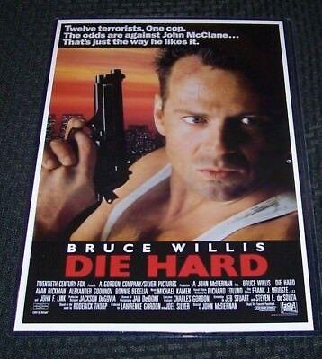 """Die Hard Movie Poster Mini 11/""""X17/"""""""