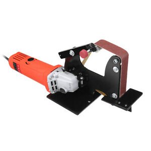 M10 Belt Sanding Machine,Angle Grinder Belt Sander Attachment Replacement Sanding Belt Adapter Accessories