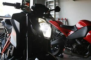 Details about KTM Super Duke 1290 H4 error free LED Headlight conversion kit