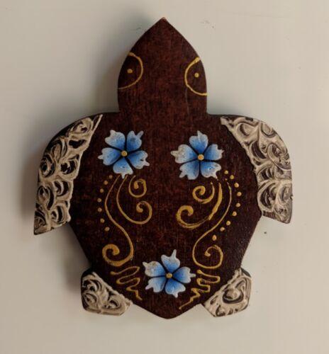 Aimants de réfrigérateur peint à la main Sono Bois Belle Facture Divers Designs