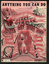 Anything You Can Do 1946 Annie Get Your Gun Original Production Sheet Music