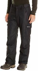 Arctix-Snow-Cargo-Pants-Mens-2XL-Black-Skiing-Snowboard-42-48-x-31-034-Actual-Sport
