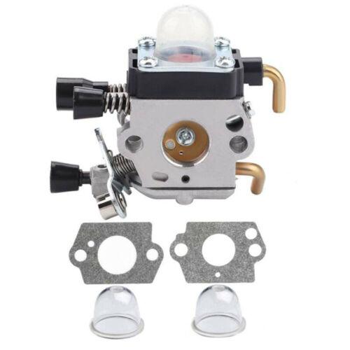 New Carburetor For STIHL FS55R Trimmer Weedeater Line Kit Easy  Install