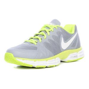 Details zu Nike Dual Fusion TR 6 Herren 10.5 Grau Gelb Turnschuhe Fitnessschuhe NEU OVP