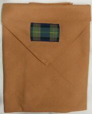 Boy Scouts Of Thailand Tartan WOOD BADGE NECKERCHIEF SCARF Scout Leader Gilwell