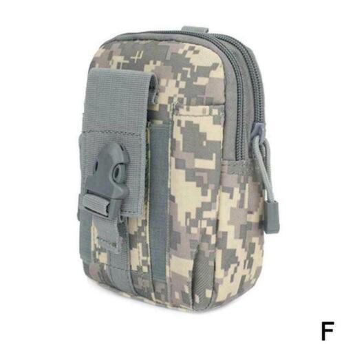 Taktische Molle Pouch Gürtel Militär Wandern Camp Handytasche M3B0 Taille T E4F1