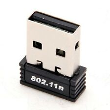 USB Wireless 802.11n/b/g WiFi 2.0 150Mbps Network Card LAN Dongle Adapter Laptop