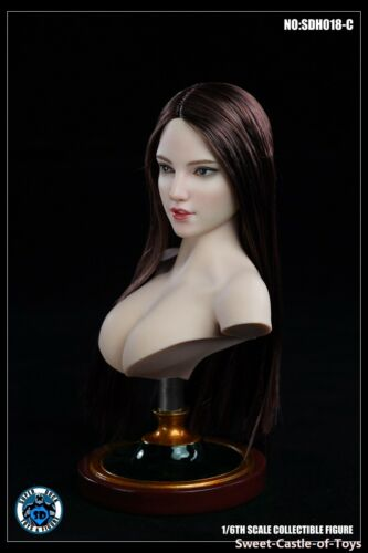 1//6 Super Duck Action Figure Female Head Sculpt SDH018-C For TBLeague Phicen