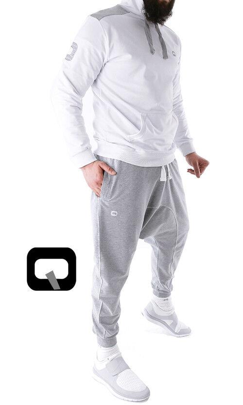 1 X Qabail Hoodie Anzug - Sunnah - Sackförmige Hose Jogging - Komplett Set