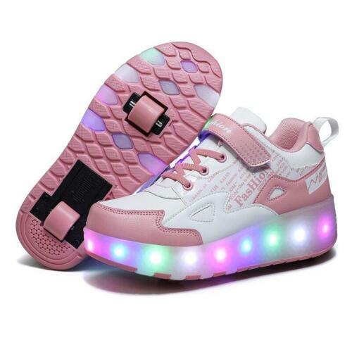 chaussures de skate pour garçons et filles! Chaussures à roulettes pour enfants